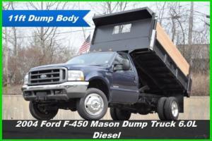2004 Ford F-450 XL Dump Truck