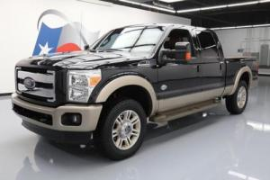 2012 Ford F-250 KING RANCH CREW FX4 4X4 DIESEL NAV