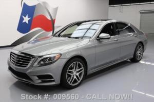 2014 Mercedes-Benz S-Class S550 SPORT PANO SUNROOF NAV Photo