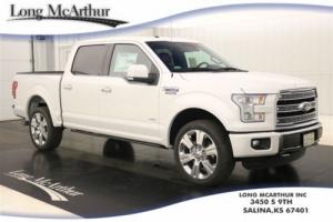 2016 Ford F-150 LIMITED HARD TO FIND 4WD SUPERCREW MSRP $66625