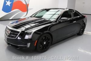 2015 Cadillac ATS 3.6L PREMIUM COUPE NAV REAR CAM