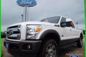 2015 Ford F-250 King Ranch 4x4 4dr Crew Cab 6.8 ft. SB Pickup
