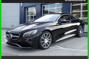 2015 Mercedes-Benz S-Class S63 AMG 4MATIC Certified