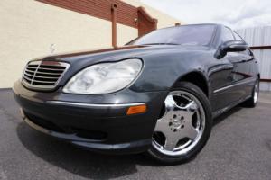 2002 Mercedes-Benz S-Class 2002 S500 S Class 500 Sedan ONLY 43k MILES! 1 Owne