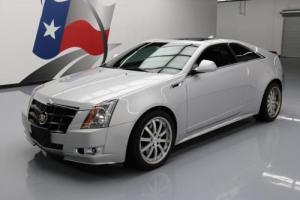 2011 Cadillac CTS 3.6 PREMIUM COUPE SUNROOF NAV