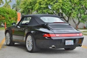 1998 Porsche 911 Carrera 2 Cabriolet Triple Black