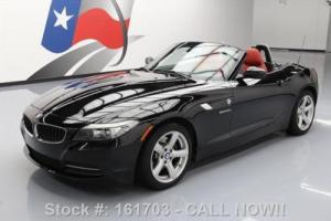 2009 BMW Z4 SDRIVE30I HARD TOP ROADSTER RED LEATHER