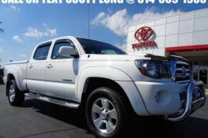 2009 Toyota Tacoma 2009 Double Cab Long Bed TRD Sport 4x4 White