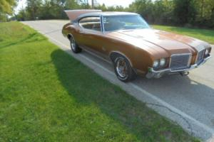 1972 Oldsmobile Cutlass S model Fastback