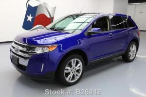 2013 Ford Edge SEL HTD LEATHER PANO ROOF NAV 20'S
