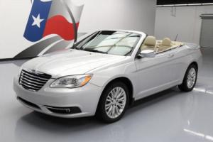 2011 Chrysler 200 Series LTD CONVERTIBLE HTD LEATHER NAV