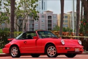 1990 Porsche 911 Carrera 4 Targa 964 C4