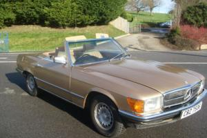 1984 Mercedes 280SL Rare Manual £9995