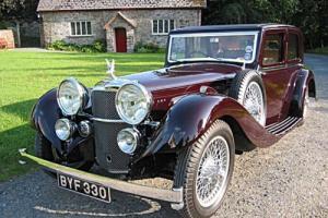 1935 Alvis Speed 20 SC Mayfair Saloon -Total Bare Shell Rebuild - Stunning!
