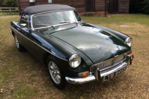 MGB Roadster, 1971 finished in Racing Green. 1860cc.
