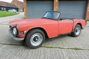 1972 Triumph TR6 - 150 BHP Car - 2 Owners - For Restoration