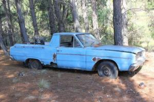 VE Valiant UTE X2 in NSW