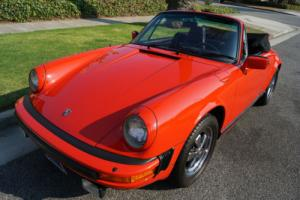 1983 Porsche 911 SC 3.0L CABRIOLET WITH 18K ORIGINAL MILES!