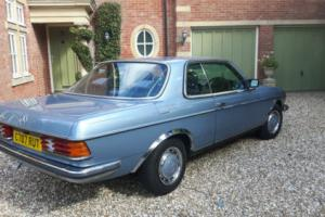 MERCEDES COUPE 230CE 99P START NO RES W123 1985