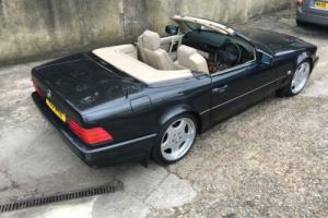 1992 MERCEDES 300SL-24 AUTO BLACK R129 SL CONVERTIBLE **SUPERB CONDITION**