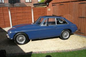 MGB GT, 1969, Chrome Bumpers, Tax Exempt, Wire Wheels, Webasto Sunroof, O/D Photo
