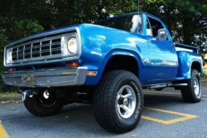 1972 Dodge Other Pickups D 100 1/2 Ton Short Bed Stepside