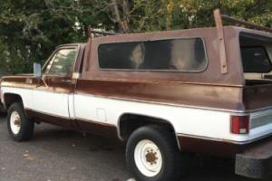 1979 Chevrolet Cheyenne Big 10 2500 High Sierra Bonanza Scottsdale