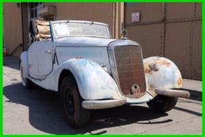 1938 Mercedes-Benz 170V Cab A