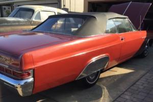 1966 Chevrolet Impala Chevy Convertible Impala