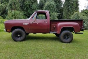 1981 Dodge Other Pickups Power Ram