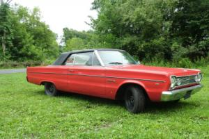 1966 Plymouth Belvedere II Convertible Photo