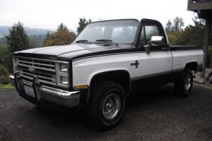 1987 Chevrolet Silverado 1500 4X4