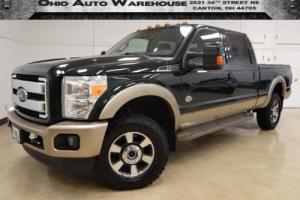 2013 Ford F-350 King RancH 4x4 Navi TurboDiesel 1-Own ClnCarfax