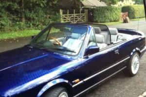 BMW e30 325i convertible 1992