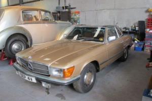 Mercedes 350SL Project/Parts car
