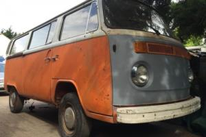 1973 VW T2 Bay Camper Project Bus