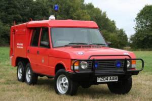 Range Rover TACR2a 6x6 Carmichael Fire Engine