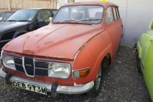 Saab 95V4 95 V4 Estate 1973 Restoration project in very solid condition Photo
