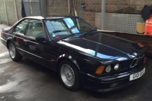 1989 BMW 635 CSI AUTO