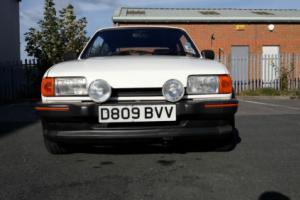 1987 FORD FIESTA XR2 WHITE 50K MILES