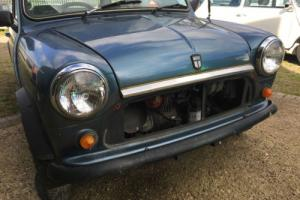 1984, Classic Mini Mayfair, 1 family owner, 33400 miles from new, FSH