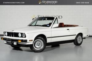 1988 BMW 3-Series 325iC Convertible Original Miles