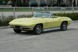1966 Chevrolet Corvette #S MATCHING 427 BIG BLOCK CONVERTIBLE