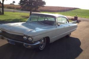 1960 Cadillac DeVille 4 door hardtop