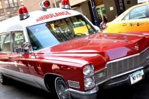 1968 Cadillac Ambulance Miller Meteor