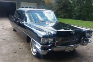 1963 Cadillac limousine
