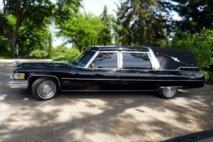1975 Cadillac Hearse Converted to Limo