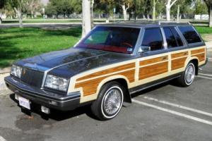 1982 Chrysler LeBaron Wagon