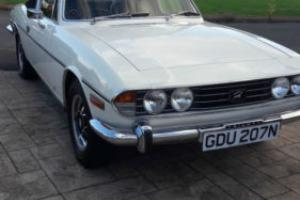 Triumph Stag 1974 Convertable Petrol Manual Overdrive