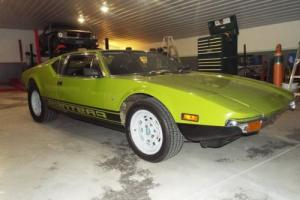 1972 De Tomaso Pantera 72 rare color and luggage rack